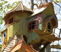 BeWILDerwood tree house