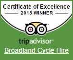 broadland cycle hire leaflet